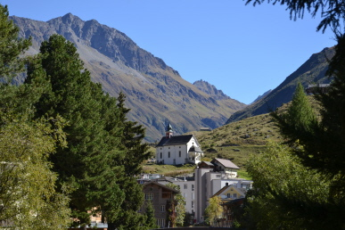 Maria-Hilf-Kapelle in Andermatt